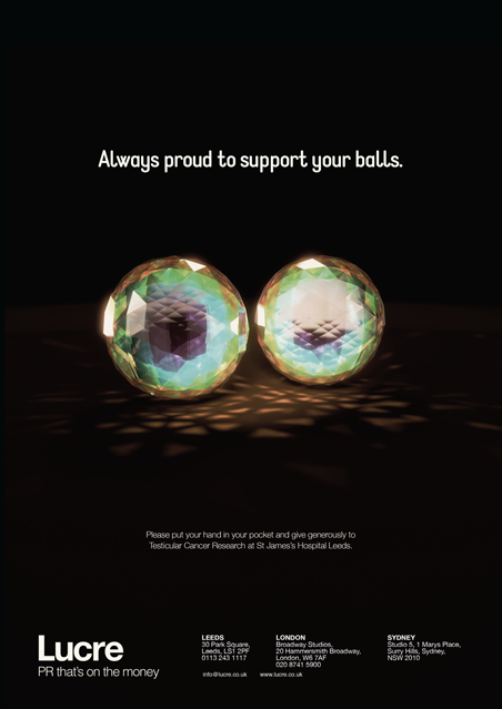 Billy Hanshaw Motion Graphics Leeds 3D modelling image retouching Lucre-Crcystal-Ball-Ad