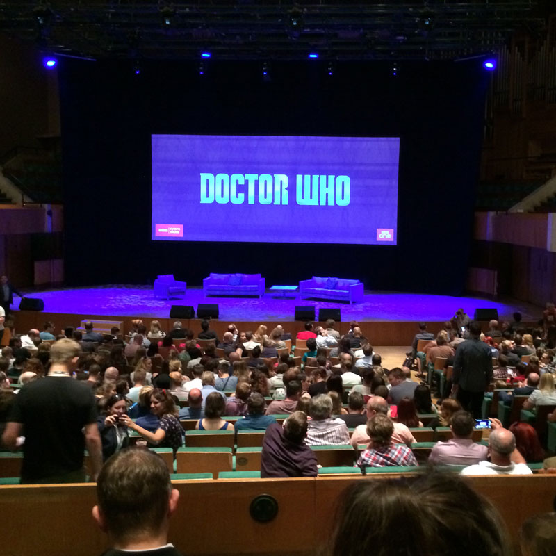 Gearing up for Doctor Who