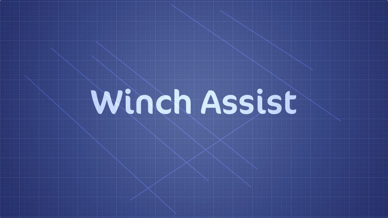 Billy Hanshaw Studio Motion Graphics Leeds, Winch Assist